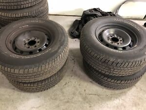 Michelin M/S 265/70/17 tires/wheels F150