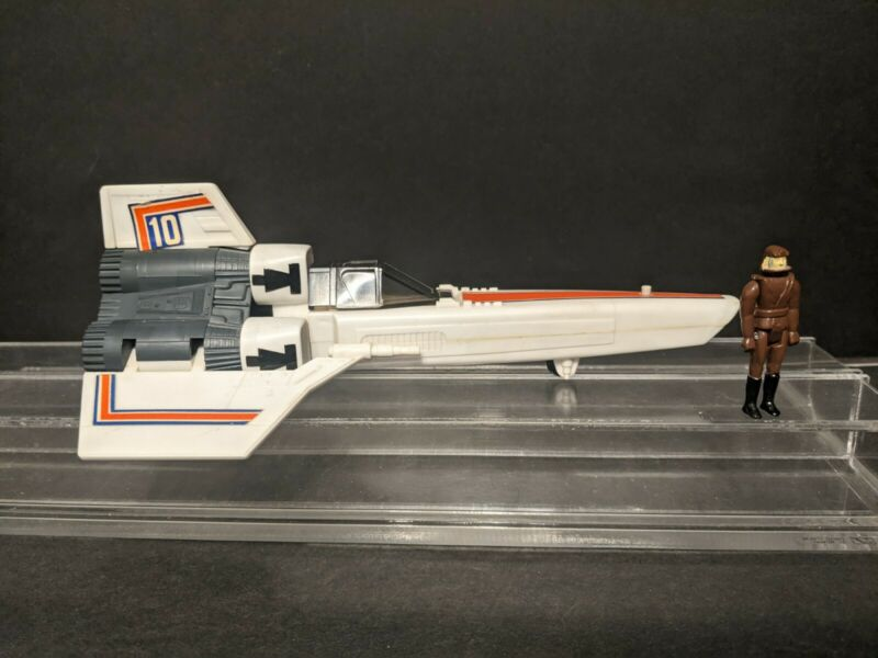 Vintage 1978 Viper ship + Pilot Firing Missile ver. Battlestar Galactica MATTEL