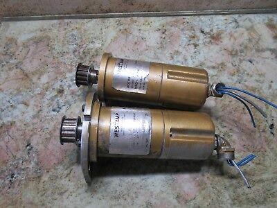 Westamp Servo Motor M-170 75v 7v1000 Rpm Burke J Type Cnc Mill Cnc3md Each