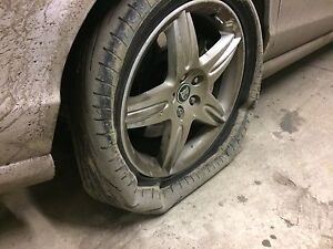 In need of a tire change / Locked lugnut