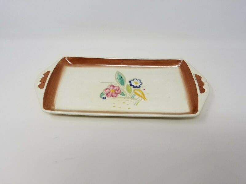 Vintage Art Deco Susie Cooper Burslem Works England 12 inch Serving Tray