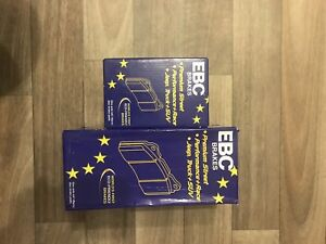2005 and up Ford Mustang EBC red stuff ceramic brake pads