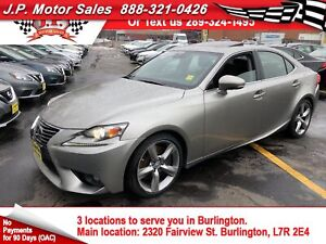 2016 Lexus IS 350 Auto, Navigation, Leather, Sunroof, AWD