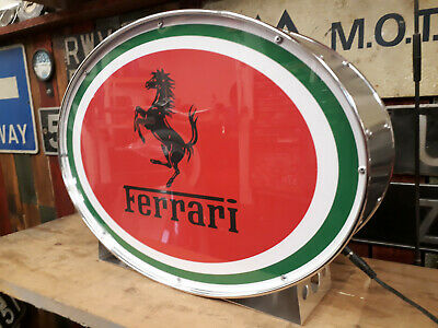 Ferrari,dino,f40,classic,vintage,classic,mancave,lightup,sign,garage,workshop