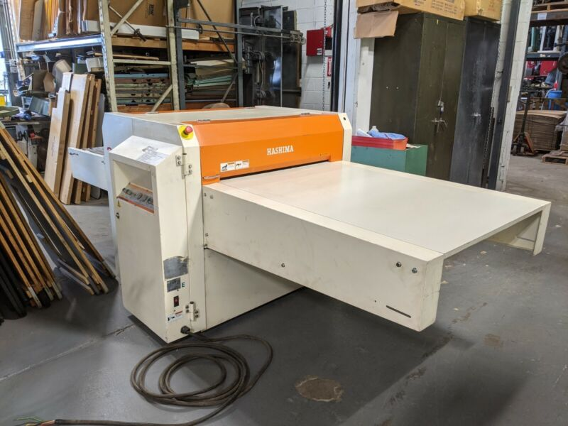 Hashima HP-90LD Fusing Machine Garment Manufacturing Apparel
