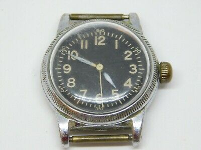 Vintage WWII Elgin US Army AIR FORCE A-11 Wind-up Analog Watch