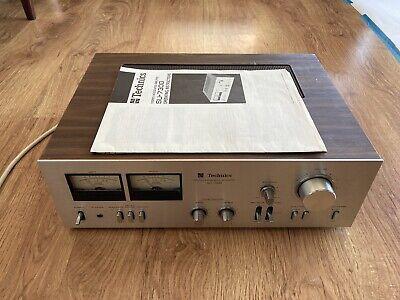 Vintage technics stereo integrated amplifier SU-7300