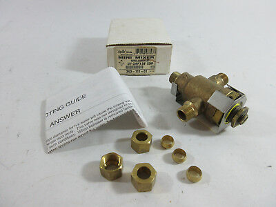 Apollo Conbraco 34d-111-01 3-way Mini Mixer Valve 38 Comp X 38 Comp
