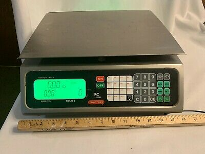Torrey Pc-40l Grocers Deli Meat Counter 14 Price Computing Scale 40lb Capacity