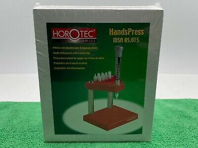 Horotec 05.015 Watch Hand Press Sealed New