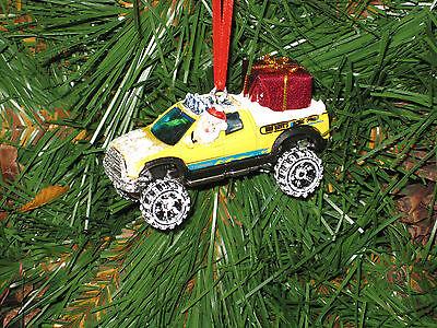 Hot Wheels Toyota Tundra  Custom Diecast Christmas Ornaments (your choice) Custom Wheels Toyota Tundra