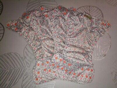 Fuzzibunz One Size Cloth Reusable Adjustable Diaper Covers Belle Lot 4