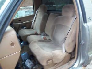 1999 to 2007 fullsize chevy or gmc truck seats with seatbelts