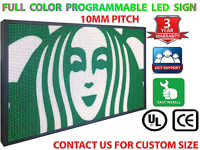 16m Color 27x52 10mm Wifi Outdoor Business Video Image Electronic Led Sign
