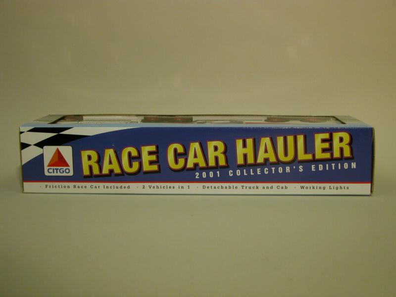 2001 CITGO RACE CAR HAULER COLLECTORS EDITION MINT CHINA