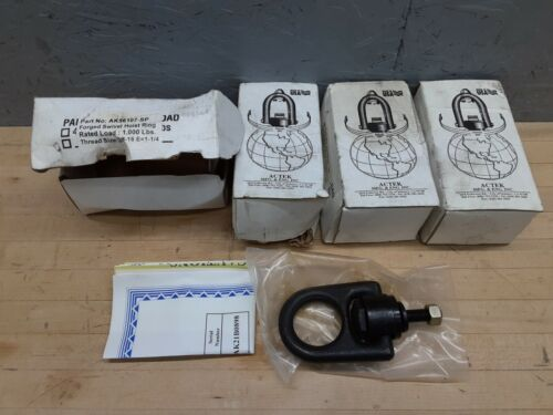 Lot of 4 - Actek Hoist Rings 1000 lb. AK56107-SP Heavy Duty 3/8 - 16 NEW