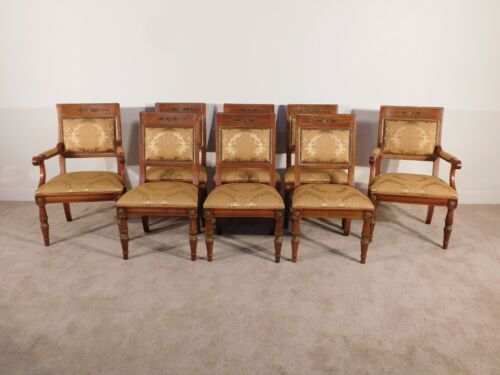 Set of 8 HENREDON Grand Provenance Collection Dining Chairs