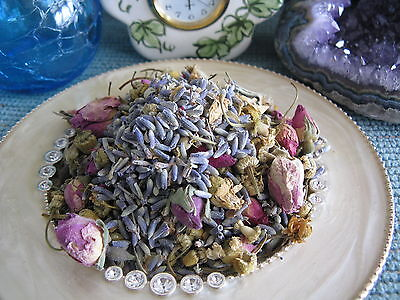 NEW NATURAL DRIED LAVENDER, PETITE MINIATURE ROSE ...