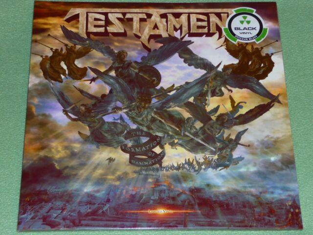 TESTAMENT The Formation Of Damnation LIMITED EDITION BLACK VINYL LP GATEFOLD
