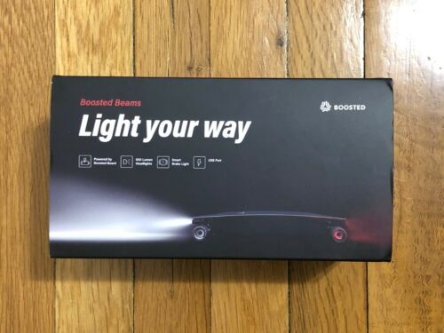 BOOSTED BOARD BOOSTED BEAMS V2 DUAL PLUS STEALTH MINI S X NEW RARE