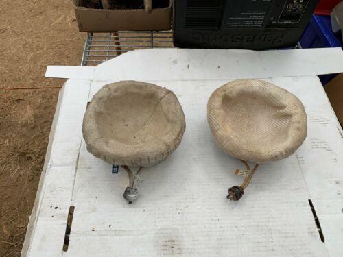 Glas-Col Fabric Round Bottom Mantles P/N O408 (Lot of 2)