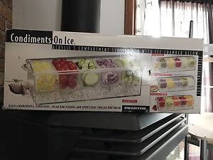 Condiments on ice