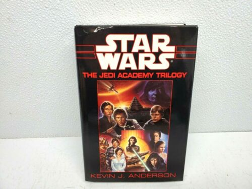 1994 STAR WARS The Jedi Academy Trilogy Kevin J. Anderson Hardcover Book UNREAD
