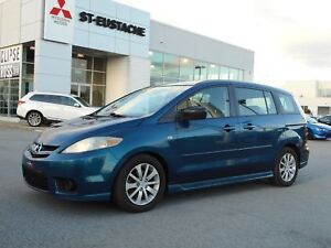 2007 Mazda Mazda5 GS   6 PASSAGERS ** MAGS ** A/C