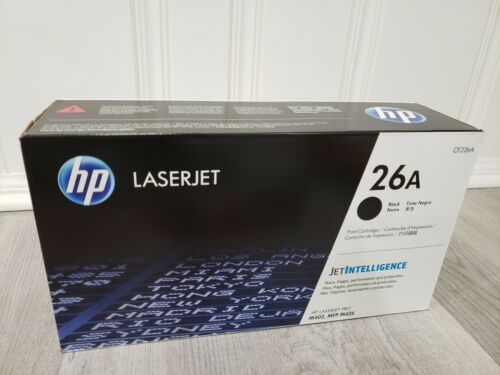 NEW ORIGINAL HP 26A CF226A GENUINE Toner in Sealed Retail Package