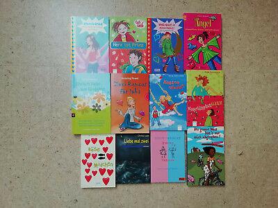 12 Liebesbücher für Mädchen - Paket mit Liebesgeschichten für junge Teenager
