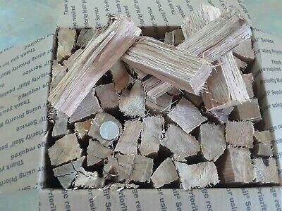 Seasoned Red Oak Barbecue Wood Smoking or Grilling Chunks 10+ lbs