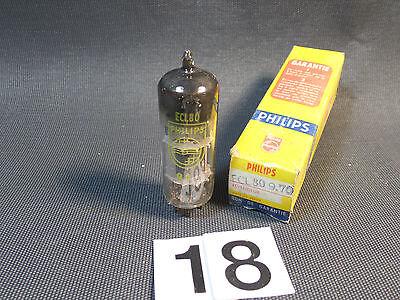 Vintage Válvula Tubo Amplificador / NOS/ Philips ECL80 (18) segunda mano  Embacar hacia Mexico