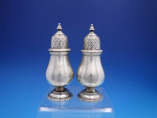 Gadroon By Crighton & Co. Sterling Silver Salt and Pepper Shakers (#4175)