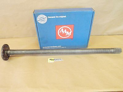 AXLE SHAFT GM 14 BOLT 10.5 inch REAR FULL FLOATING STYLE 3977383 LH DRIVERS SIDE