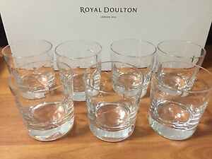 Royal Doulton Lunar Tumblers (Set of 7) Cannington Canning Area Preview