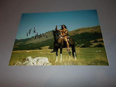Nik Xhelilaj  Winnetou signed signiert  Autogramm auf 20x28 Foto in person
