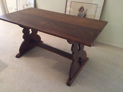 European Oak Coffee Table