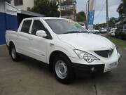 2010 Ssangyong Actyon Sports Ute DUAL CAB TURBO DIESEL Wynnum Brisbane South East Preview