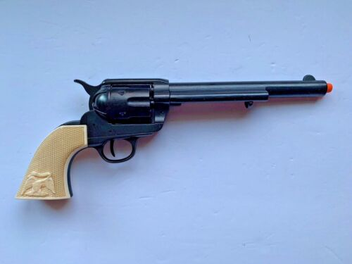 """Denix 1873 Colt Single Action Army 7.5"""" Revolver PROPS Blued with Bone Grips"""