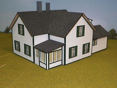 S Scale Residential House Kit