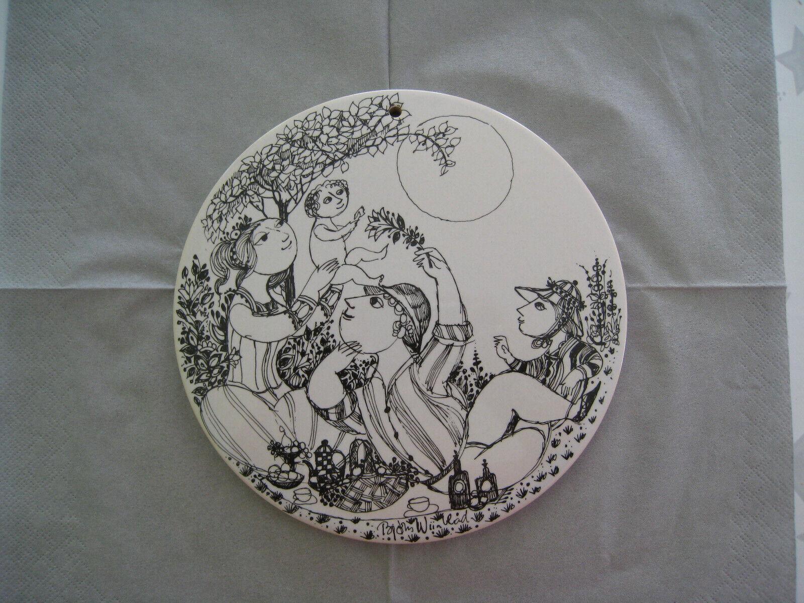 Rosenthal Wandplatte Mittag O Ca 18 Cm Bjorn