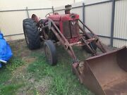 Massey Ferguson 65 Tractor with FEL and Slasher Mallala Area Preview