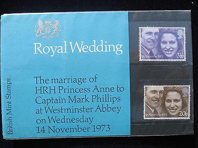 Royal Mail Presentation Pack - Royal Wedding Princess Anne to Mark Phillips.