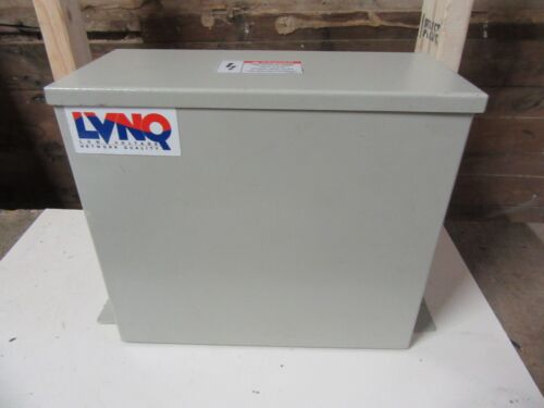 ABB 50 KVAR LVNQ CAPACITOR 480 VAC 3 PH C485G50-CH DRY TYPE NETWORK QUALITY