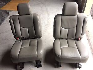 GMC Chevrolet middle row captain chairs  Kingston Kingston Area image 2