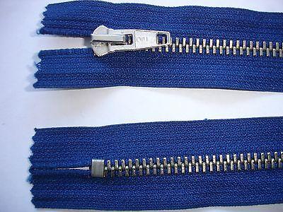 RV 337 Reißverschluß opti dunkelblau 18cm, nicht teilbar 2 Stück