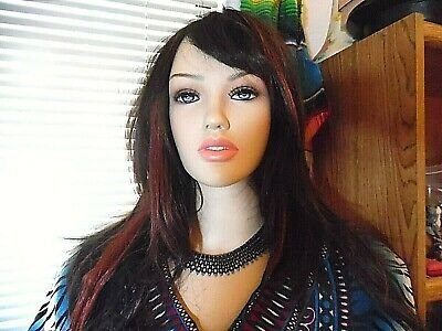 Beautiful Realistic Female Mannequin 5 10 With Clothing Wig Store Display
