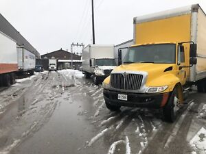 2007 international 26' box straight truck