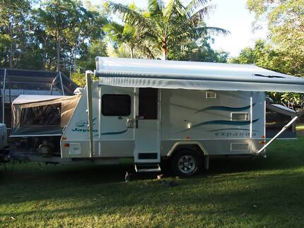 Outback Expanda 16.49-3 OB with toilet/shower and full annexe Logan Village Logan Area Preview