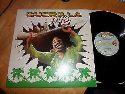 THE REVOLUTIONARIES/AGGROVATORS- GUERILLA DUB-RARE BURNING SOUND LP 1978 EX+